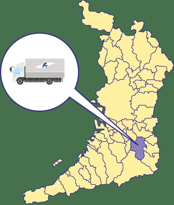 大阪府の図
